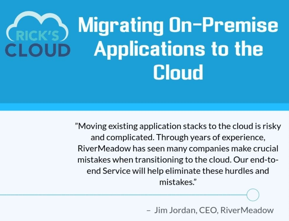 Migrating on-premise applications to the Cloud – Infographic