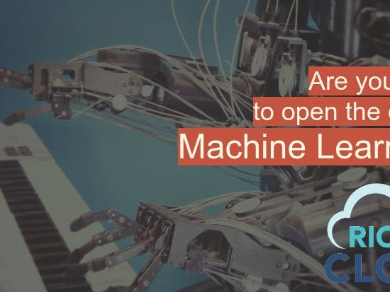 Are you ready to open the door to machine learning?