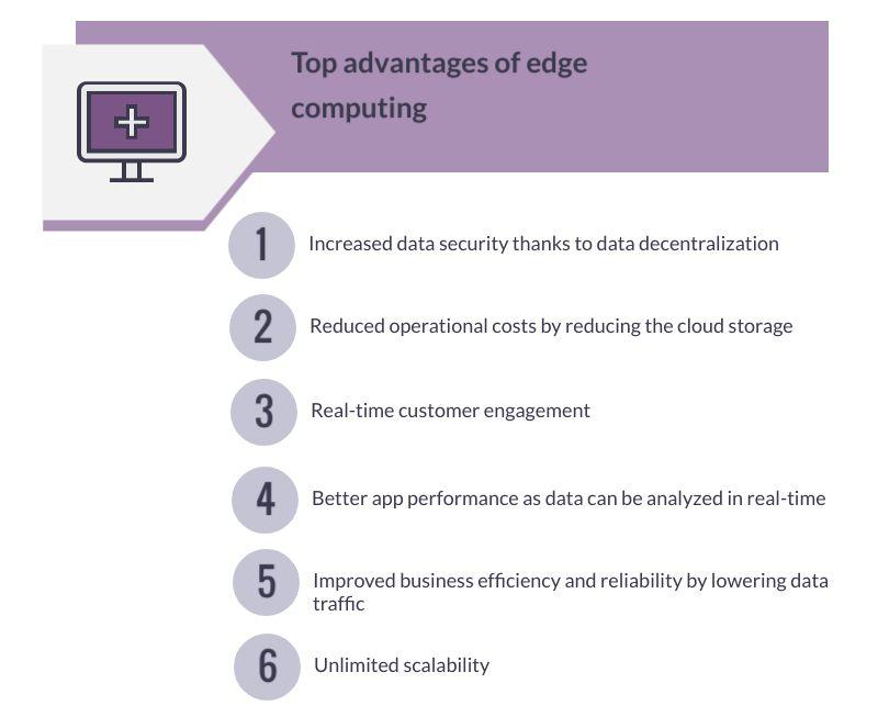 advantages of edge computing