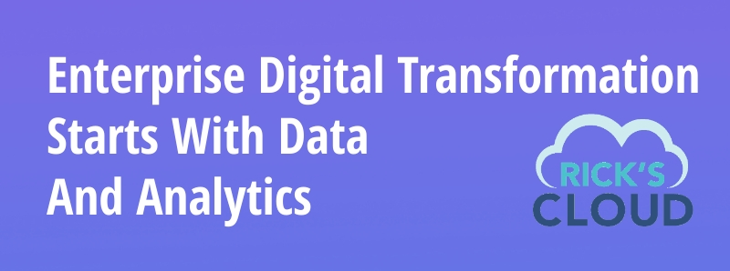 data and analytics are essential for enterprise digital transformation